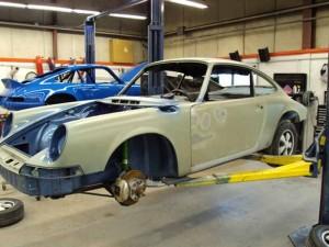 73 Porsche 911S Restoration